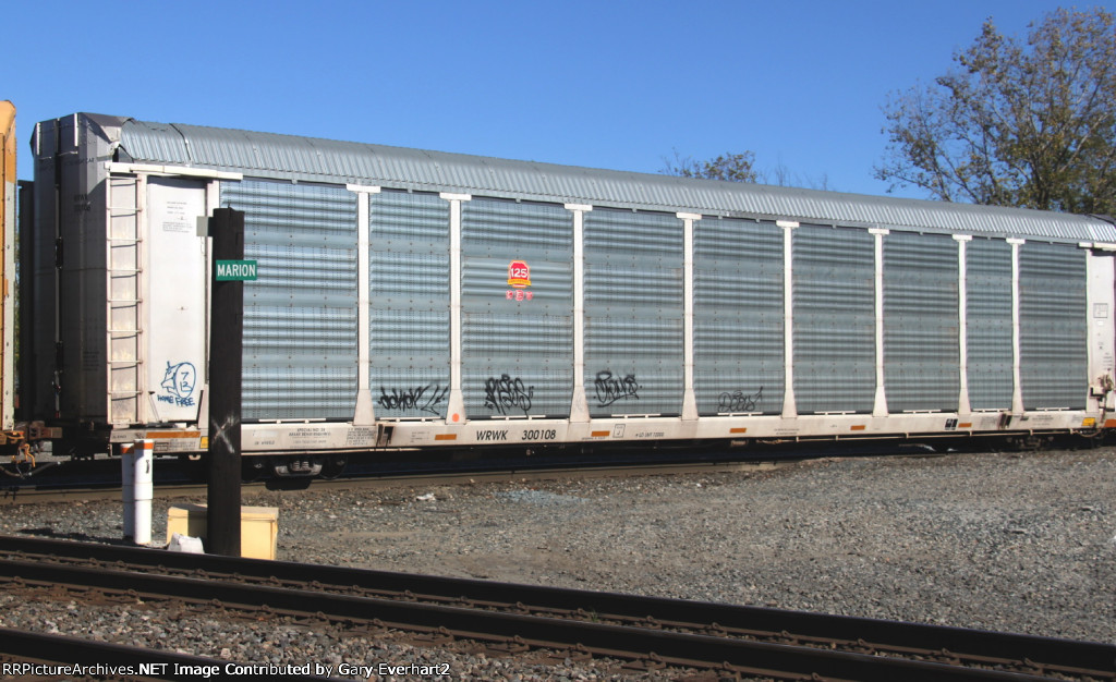 WRWK 300108 - Providence & Worcester RR