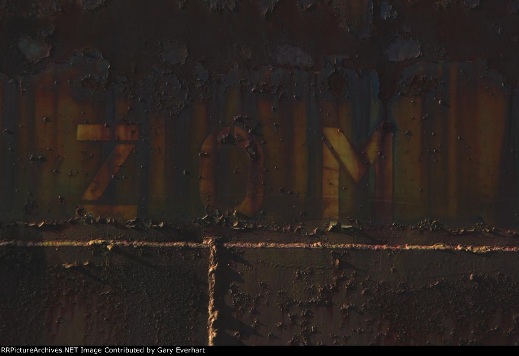 "Unknown C&O Car #2 - ""ZOM"""