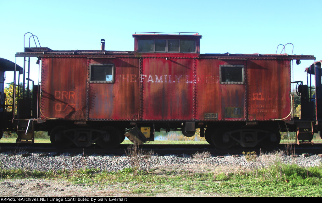 CRR 1077 - Clinchfield Caboose