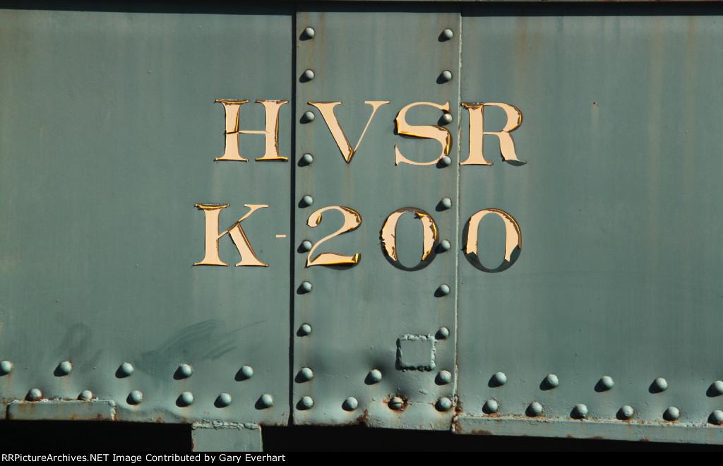 HVSR K200 - Hocking Valley Scenic Rwy