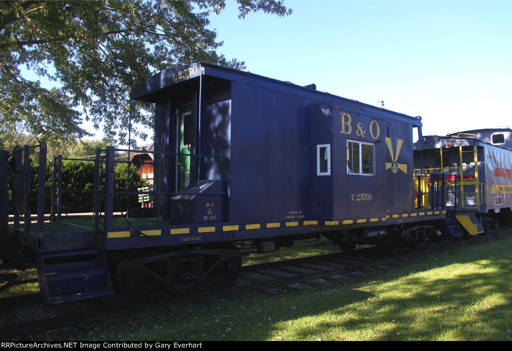 BO C2550 - Former Baltimore & Ohio