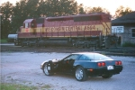 GM's Finest: 1966 SD45 and 1996 Corvette LT4