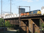 CSX and BNSF gevos power Q439