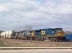 CSX 5298 heading south