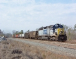 CSX 8954 on a local just south of