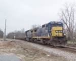 CSX 7551 heading north