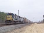 CSX 8701 heading north