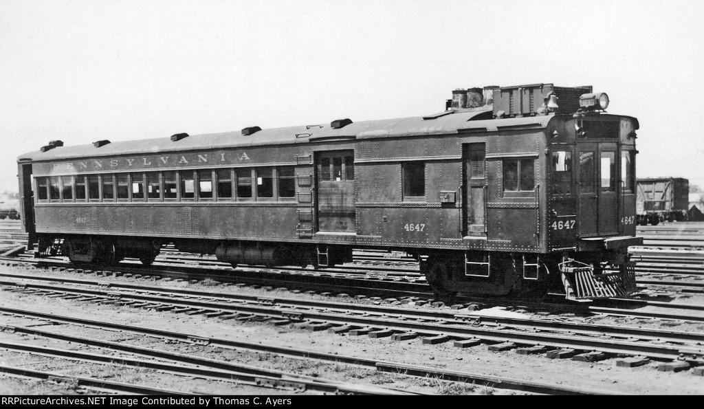 """PRR 4647, """"Doodlebug,"""" 1938"""
