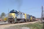 CSX 2502 heading south into CSX Fairburn Intermodal Yard