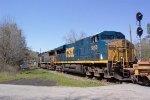 CSX 5255 heading north