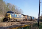 CSX 9040 heading north