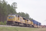 UP 4841 about to leave Fairburn Intermodal