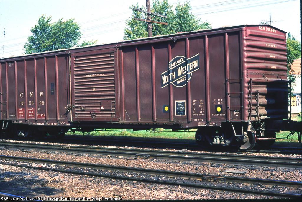 CNW 155499 - Chicago North Western