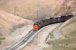 WP 3553 West working uphill on Altamont Pass