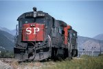 SP 7802 Helper on Cajon Pass