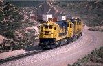 ATSF 8030 East on Cajon Pass