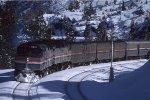 Amtrak #5 at Yuba Pass