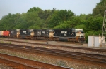 NS 2597 leads SD70M/C40-9W/SD70M/C40-9W combo