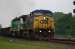 CSX 7827 thunders east