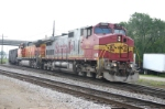BNSF 636 takes coal towards Toledo