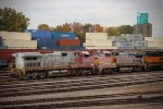 BNSF 669 and 542