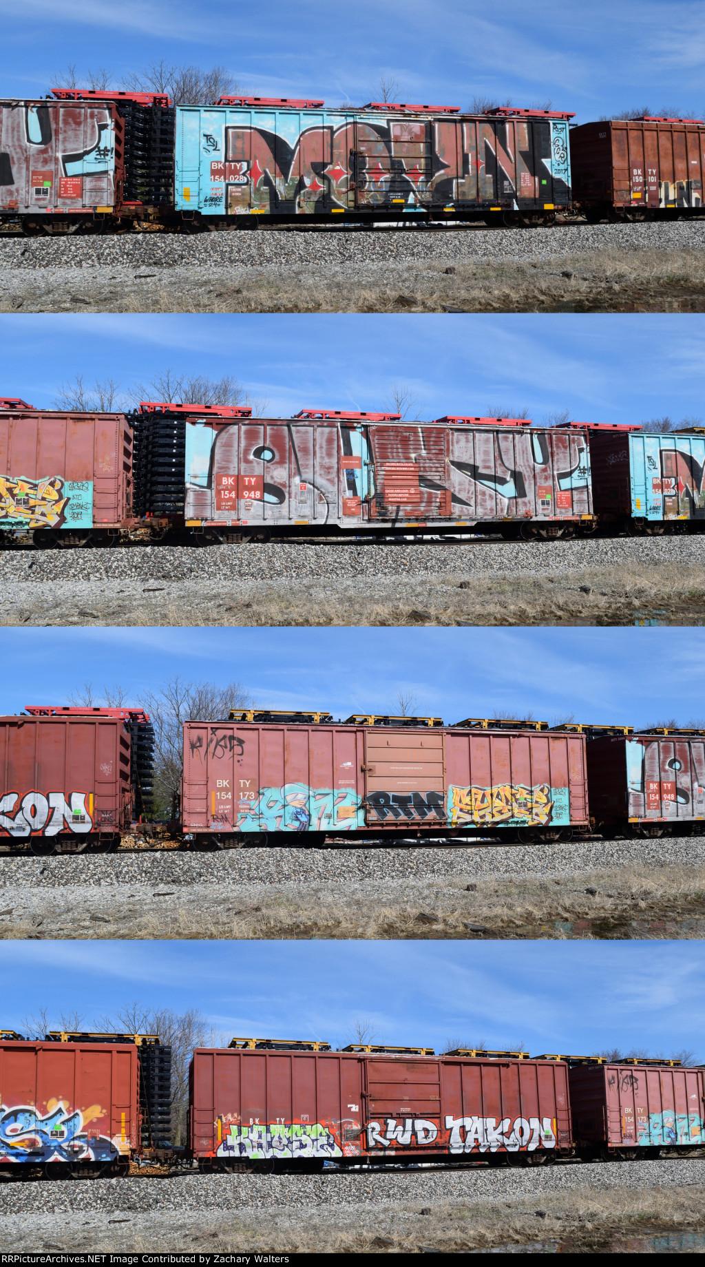 BKTY Boxcars