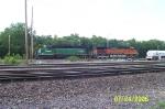 BNSF 6334 & BNSF 5125