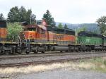 BNSF SD40-2 8013