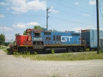 GTW 4622 Switching North Yard