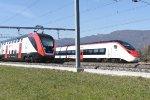 Mainline Zurich-Bern: SBB 502 222