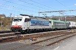 Mainline Zurich-Bern: SBB 186 907