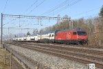 Mainline Zurich-Bern: SBB 460 004
