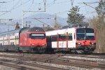 Mainline Zurich-Bern: SBB 460 022