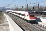 Mainline Zurich-Bern: SBB 500 017