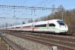 Mainline Zurich-Bern: DB 412 034