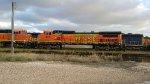BNSF C40-8W Locomotives