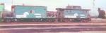 Conrail caboose #18370 and #23099