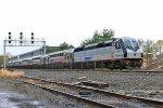 NJT 4022 on train 1122