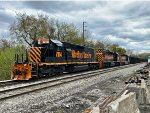 WE 7014 leads a fine trio of tigers.