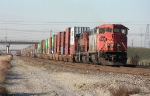 CN 2421 and stack train