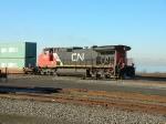 CN 2630 running long hood first