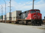 CN 2672 with stack train
