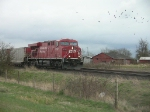 CP 8742 arriving with a coal train