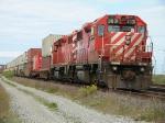 CP 3031 heads a stack train