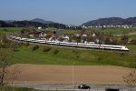 Mainline Zurich-St.Gallen: SBB 500 038 and 042
