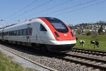 Mainline Zurich-St.Gallen: SBB 500 042