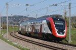 Mainline Zurich-St.Gallen: SBB 502 004
