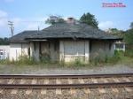 Depot - Pennsylvania Railroad - trackside view