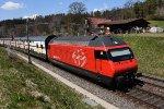 Mainline Zurich-St.Gallen: SBB 460 101