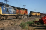 BNSF H-EVEBAR9-06A & UP 5856 North